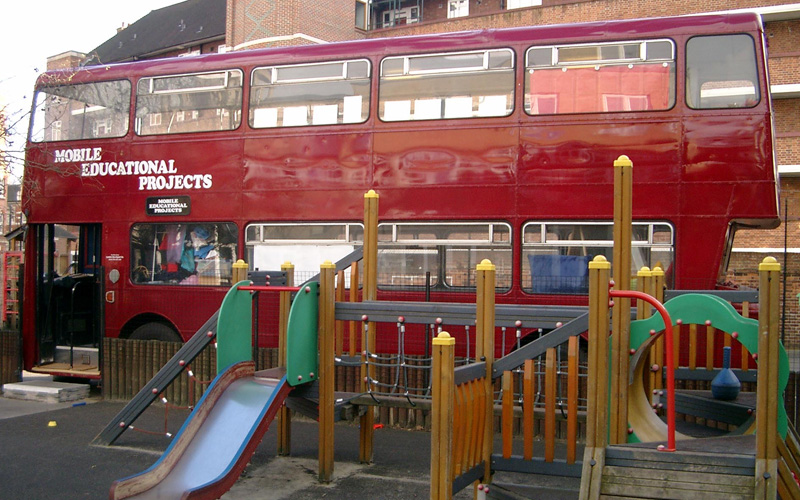 Mobile Educational Projects London Bus Promotions