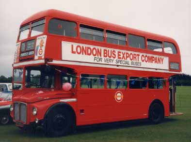 AEC London Routemaster - typical red bus